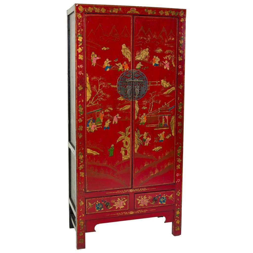 Armario boda chino rojo blog de artesania y decoracion - Armario de boda chino ...
