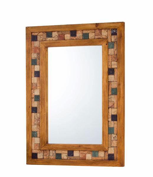 Espejo rustico marmol