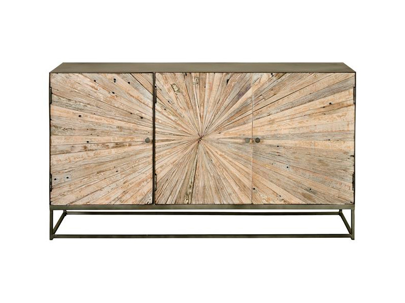 Aparador 3 puertas rustico industrial madera reciclada