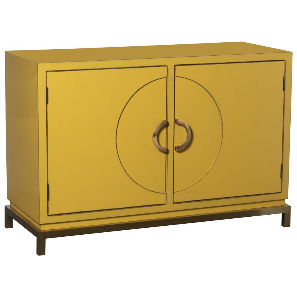 Aparador salon oriental amarillo