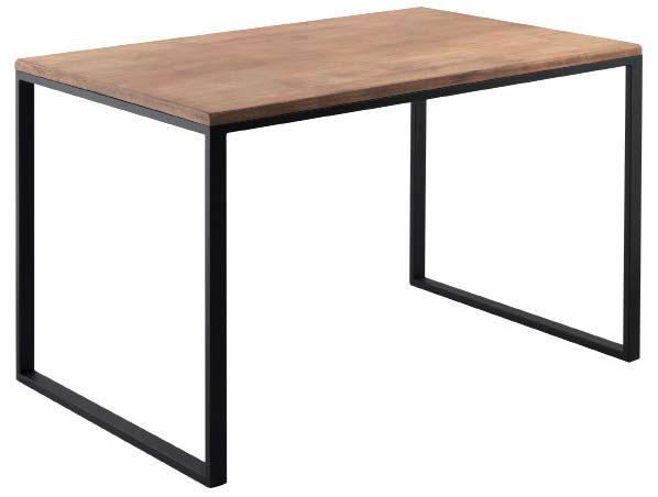 Mesa cocina rustica forja