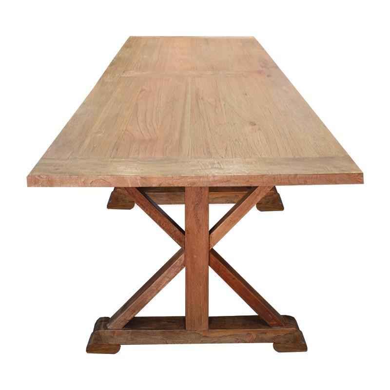 Mesa comedor rectangular madera maciza