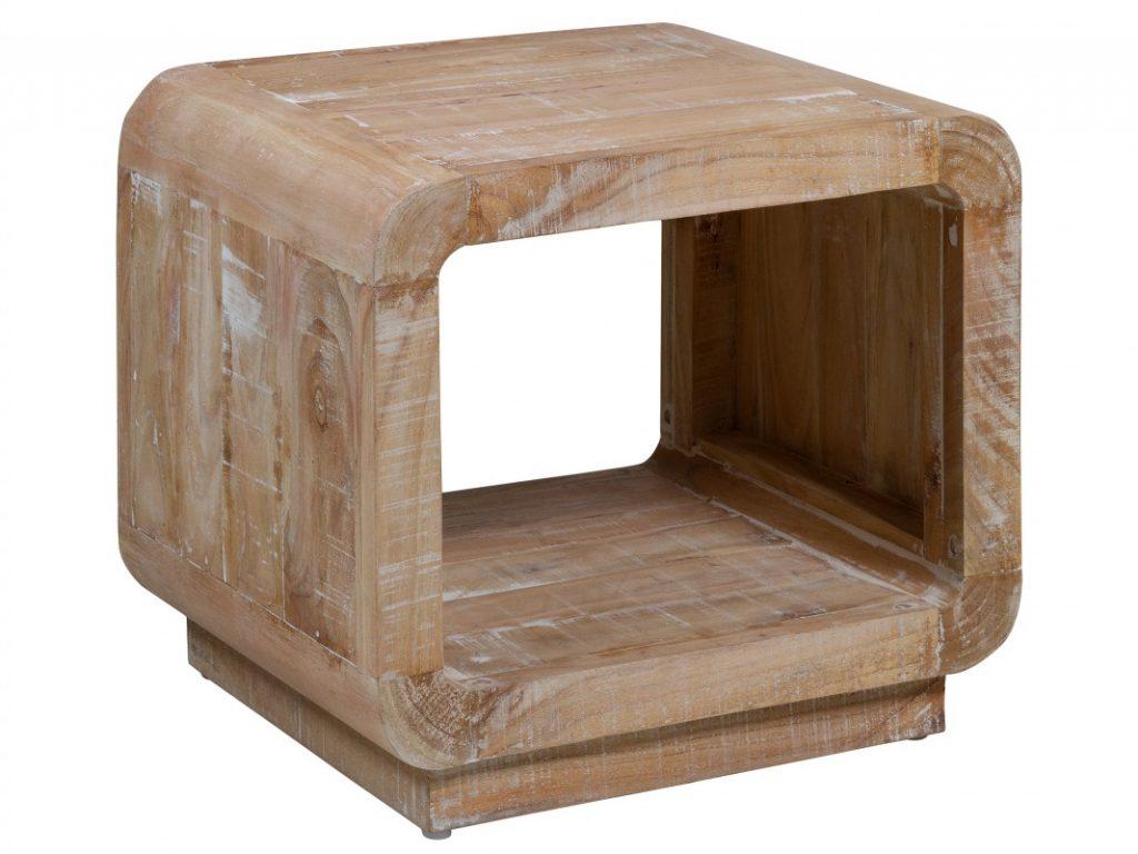 Mesa rincon rustica blanco decape