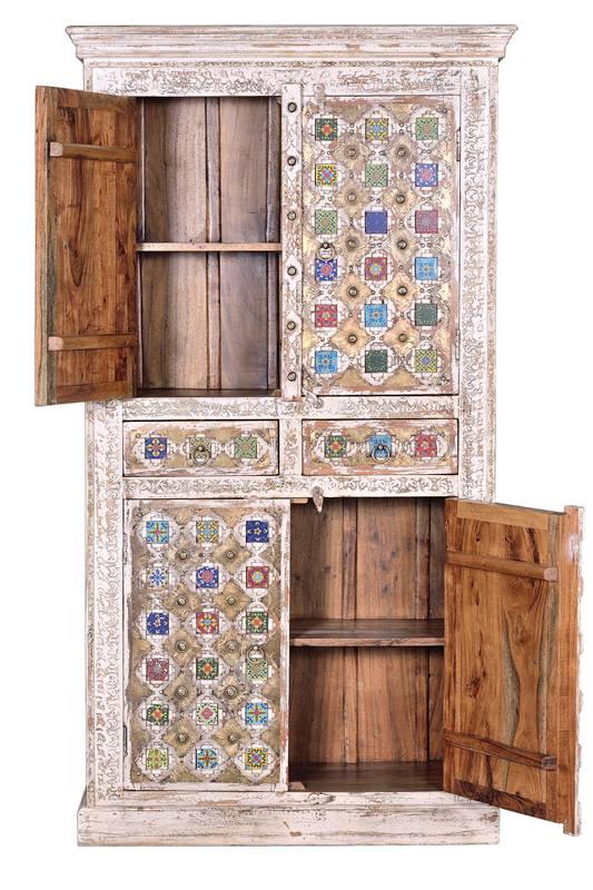 Armario despensa rustico oriental colores