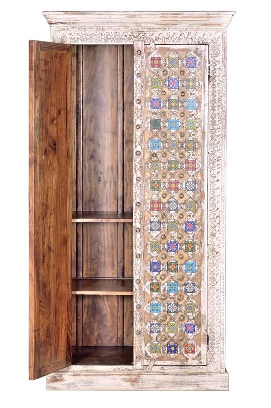 Armario oriental rustico colores
