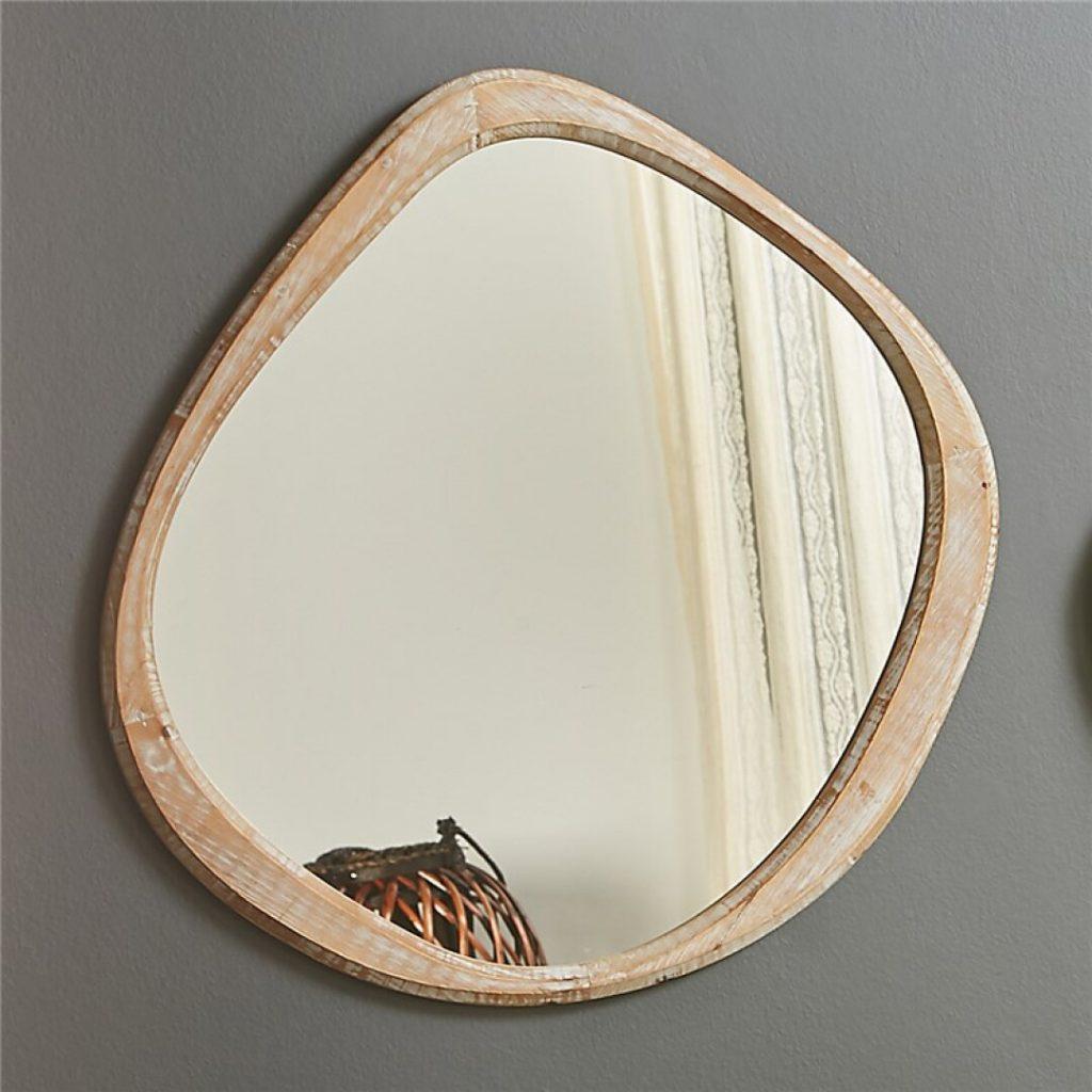 Espejo salon diseño actual madera