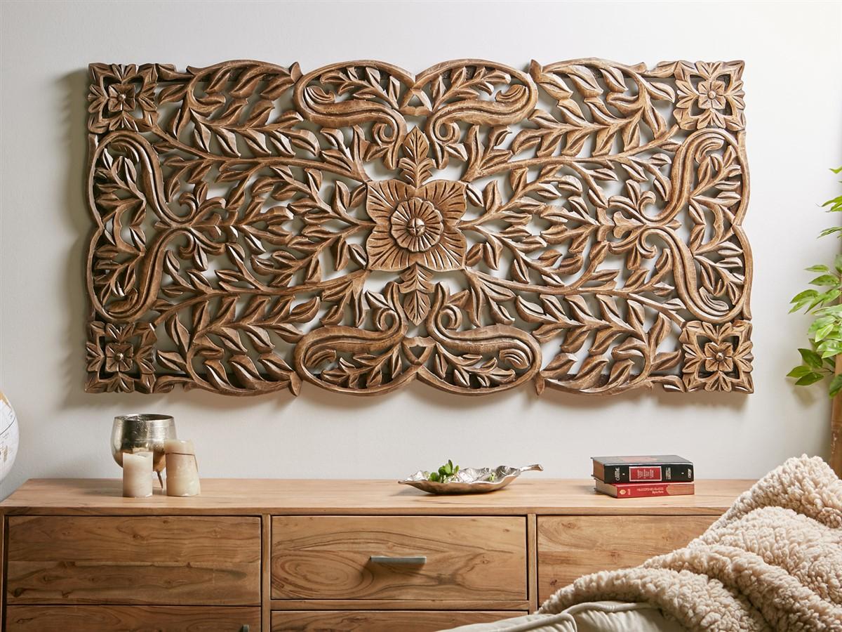 Panel decoracion tallado mandala