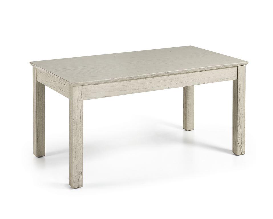 Mesa comedor industrial vintage blanco hueso Muria