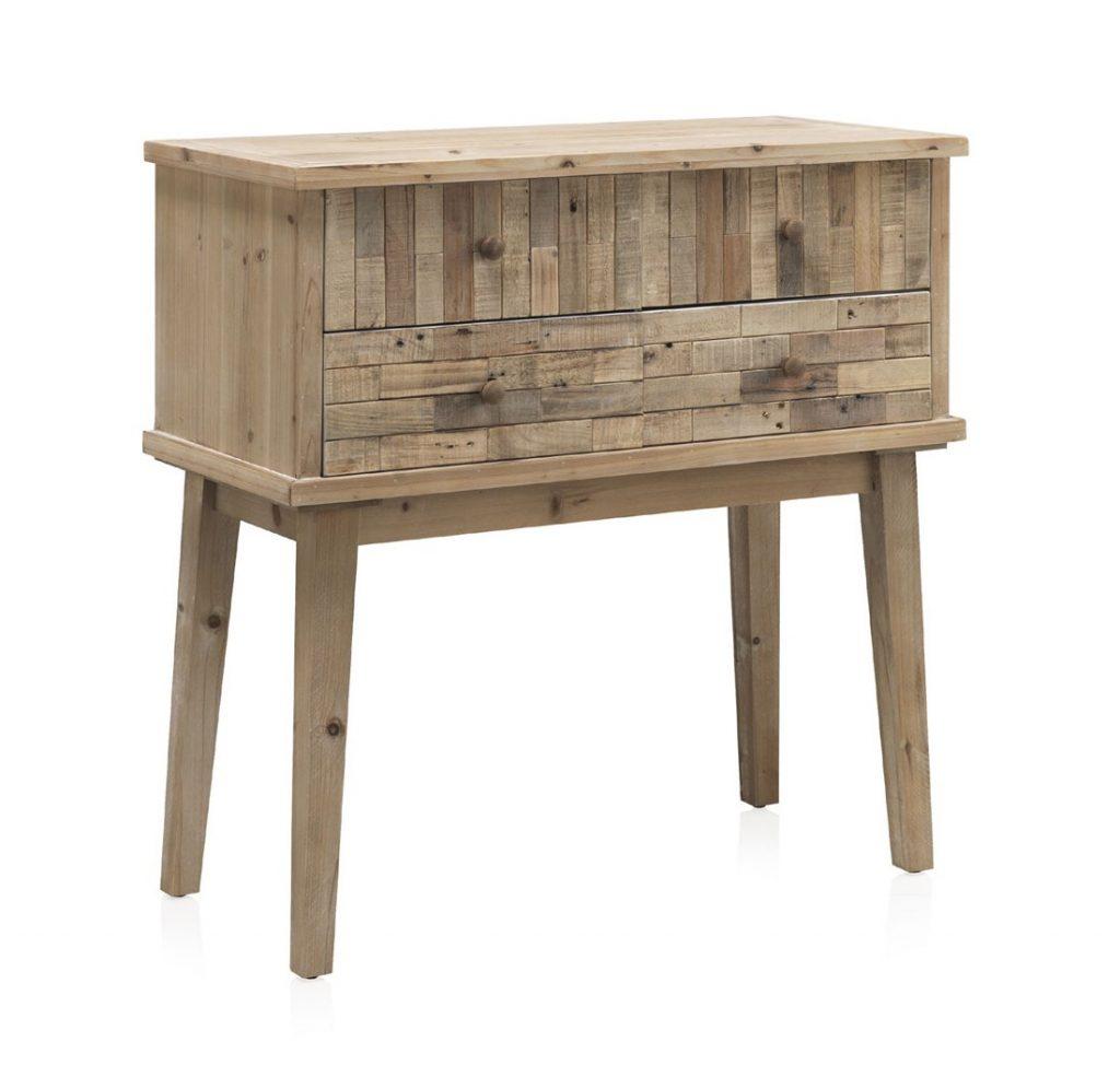 Aparador consola madera reciclada rustica