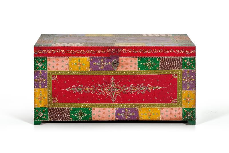 Baul oriental colores mandala