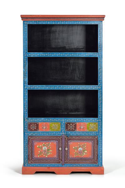 Libreria estanteria oriental colores