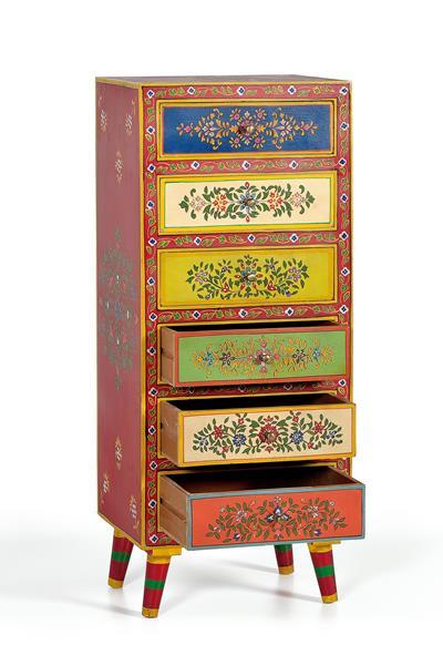 Siffonier cajonera oriental colores