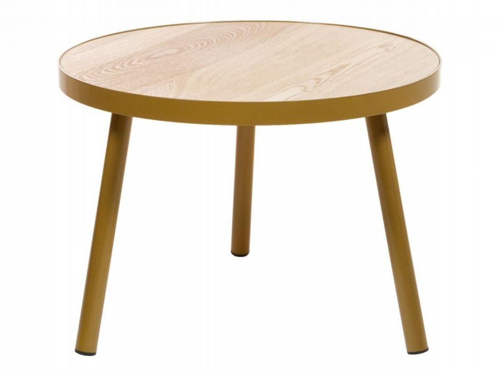 Mesa redonda baja diseño actual