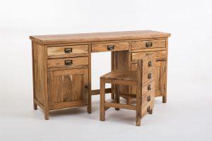 Mesa escritorio clasico secreter silla