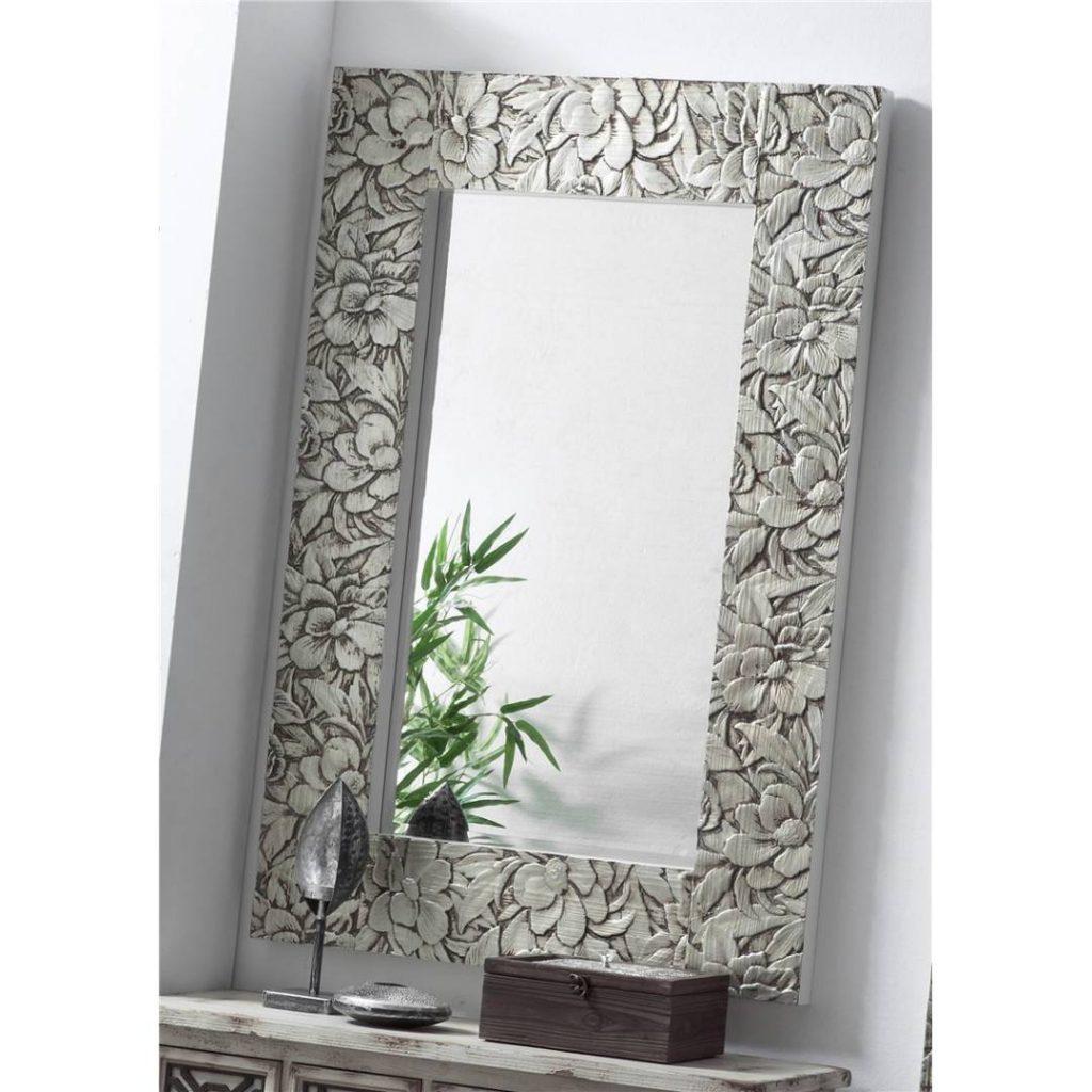 Espejo tallado plata actual