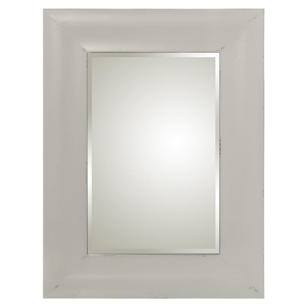 Espejo clasico blanco decape