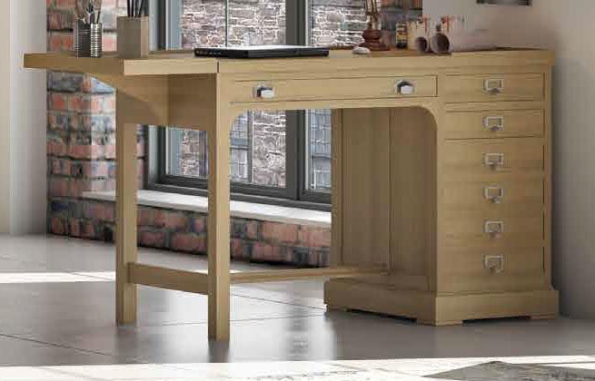 Mesa roble clasica oficina