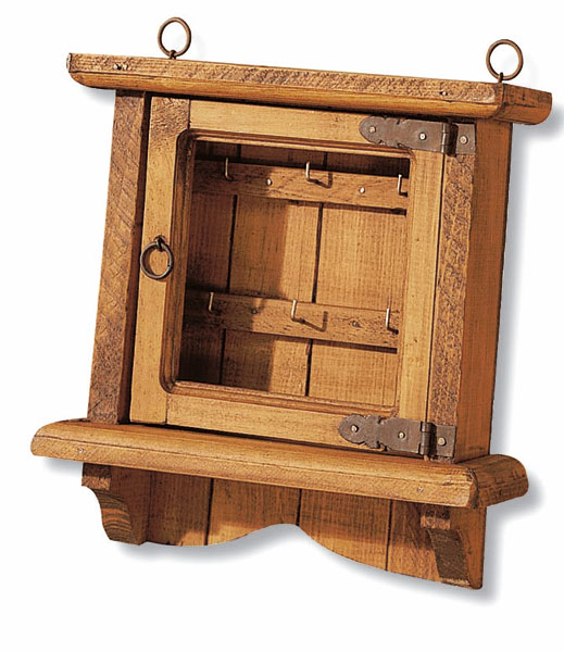 Cuelga llaves rustico 1 puerta