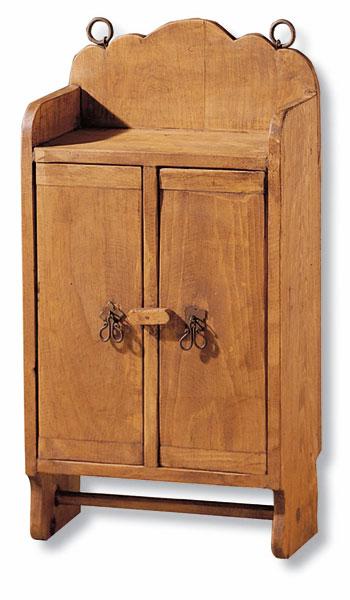 Mueble botiquin rustico colgador