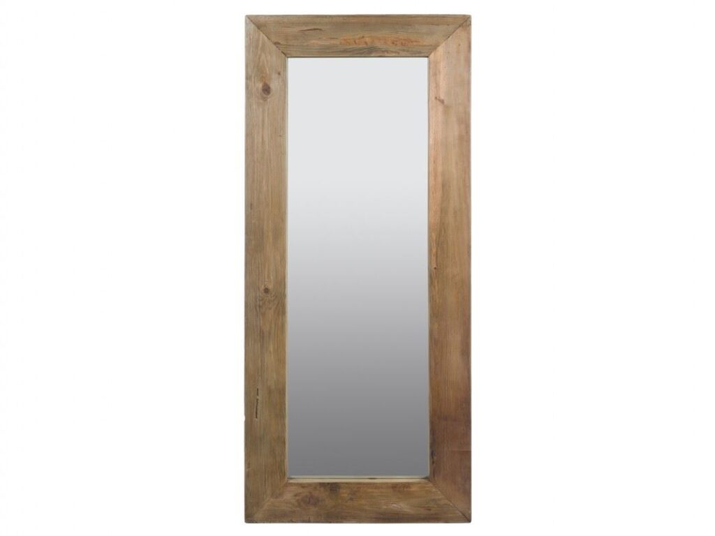 Espejo vestidor rustico madera maciza