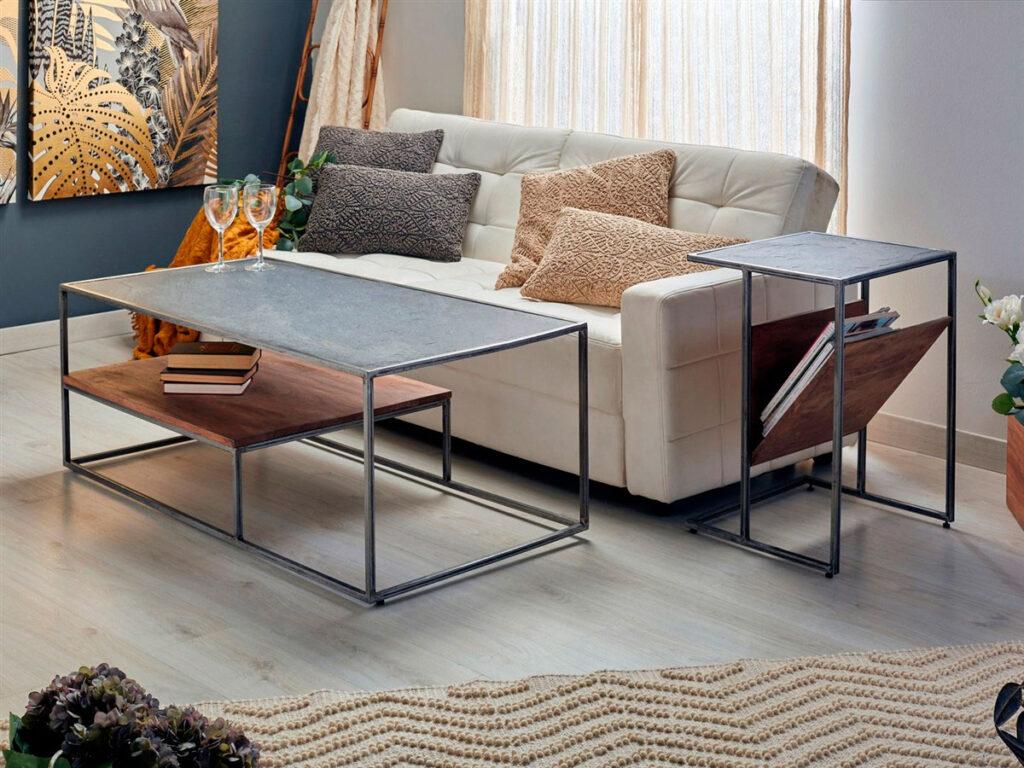 Mesa de centro diseño actual