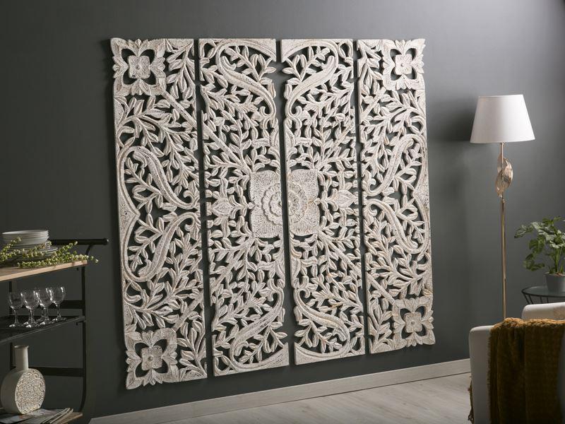 Paneles tallados orientales