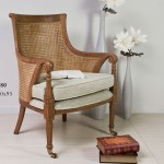Sillon Teka Rejilla rejilla tapizado lino