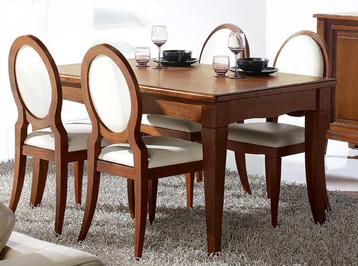 Mesa comedor teca terra | Blog de artesania y decoracion