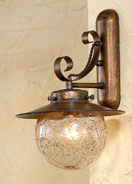 Aplique aranha rustico blog de artesania y decoracion - Apliques de luz rusticos ...