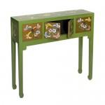 Consola oriental Verde