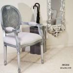 Sillon plata gris tapizado