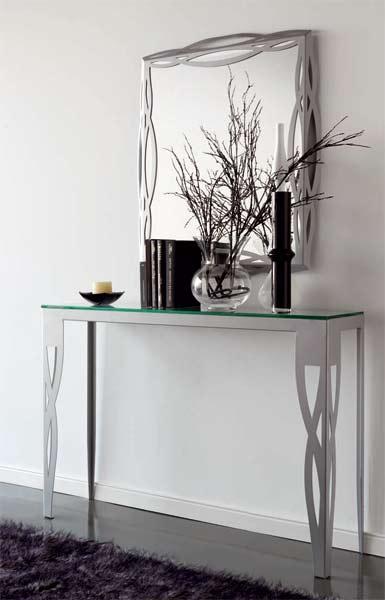 Mueble recibidor milos blog de artesania y decoracion - Adornos de pared de forja ...