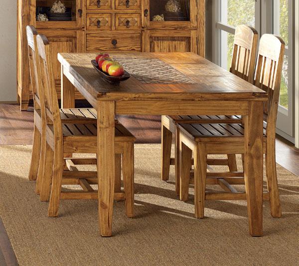 Mesa comedor centro marmol Rustica | Blog de artesania y decoracion