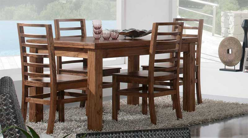 Mesa comedor fija Rustica | Blog de artesania y decoracion
