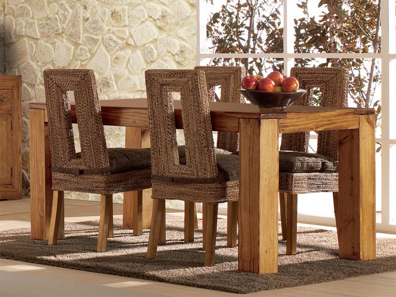 Mesa comedor tambo Rustica | Blog de artesania y decoracion
