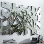 Espejo Decorativo Triangulos