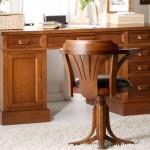 Mesa despacho Antique, mueble escritorio, escritorio con cajones, mueble para escritorio