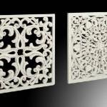 Panel Blanco Decorativo 2 Acabados