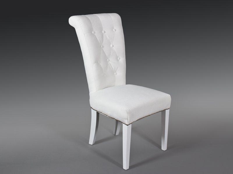Silla Tela Blanco Daes | Blog de artesania y decoracion