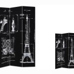 Biombo Decorado Torre