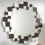 Espejo Circular Cristales