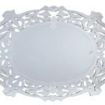 Espejo Cristales Ovalado