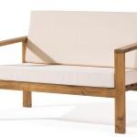 Sofa 2 Plazas Rustico Liso