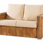 Sofa 2 Plazas Rustico
