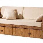 Sofa Cama Rustico Cajon