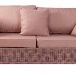 Sofa Rattan con Cojines Aladane