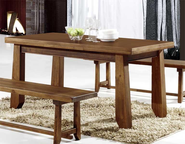 Mesa comedor extensible 4 tama os rustica lagar blog de artesania y decoracion - Mesas de comedor rusticas ...