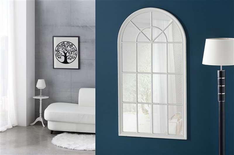 Espejo clasico blanco decape estilo ventana