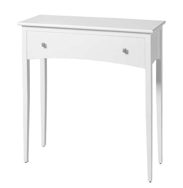 Mueble consola blanca pequeña