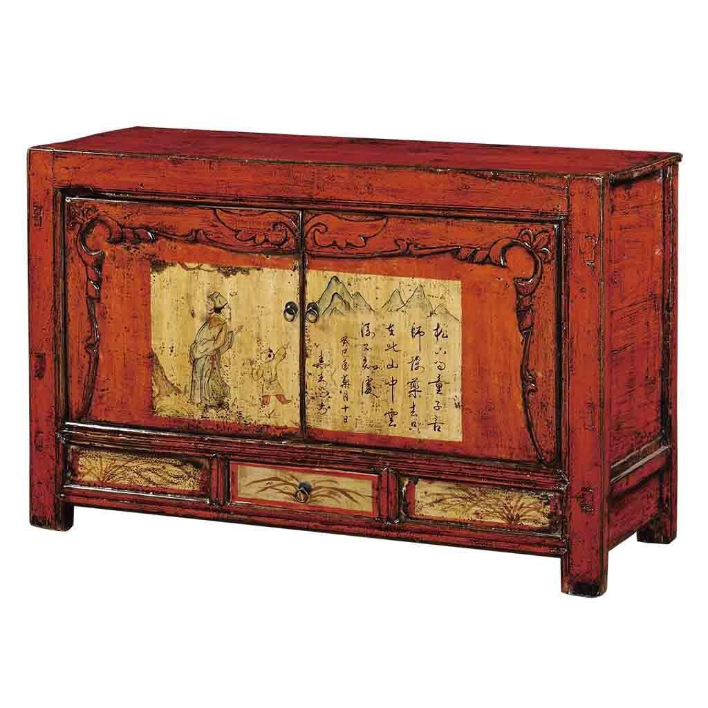 Mueble oriental 2 puertas chino